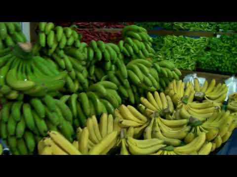 Турция. Алания. Махмутлар.  Магазин по продаже овощей и фруктов  - Manav.
