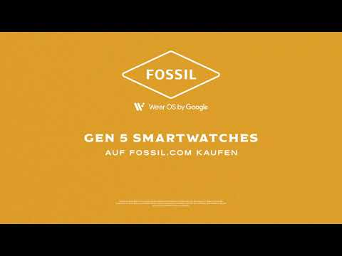 Video: WATCH WHAT you CAN DO - FOSSIL Gen 5 Smartwactches