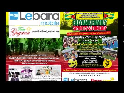 Guyana Family, Sports and Fun Day