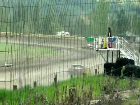 Eagle Track Raceway Street Stock Main Event Part 2 (Damian Lindgren Crash) June 1st 2014