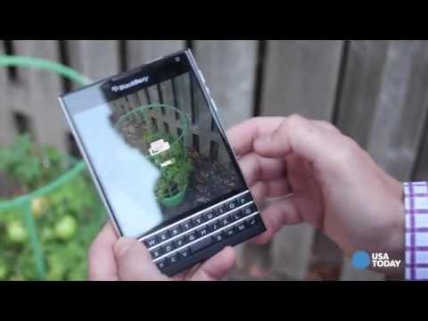 Review: BlackBerry Passport' smartphone