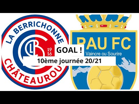Chateauroux Pau Goals And Highlights