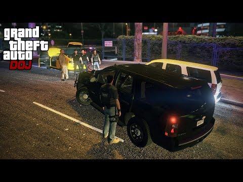 GTA 5 Roleplay - DOJ 373 - Bait Car Operation