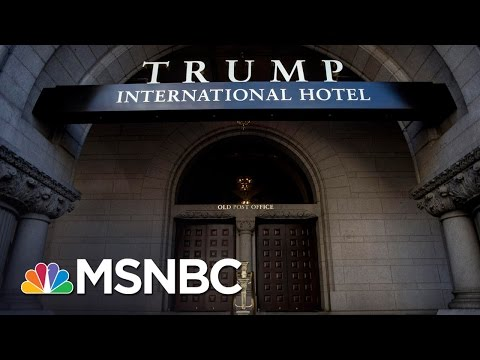President Donald Trump Yet To Sever Business Ties, Faces Lawsuit For Constitution Violation | MSNBC