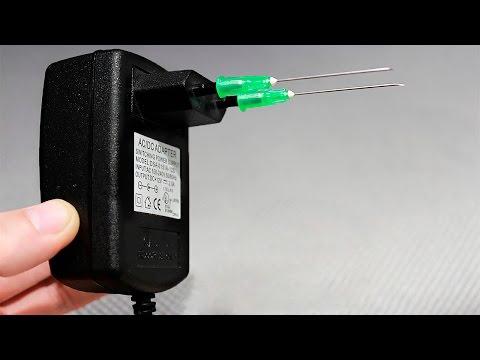 Как сделать мини выжигатель по дереву своими руками/How to make a mini DIY wood engraving tool