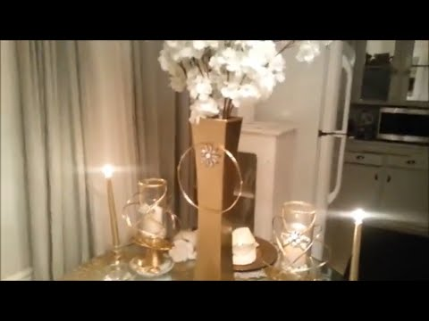 All Dollar Store items Made to Look Like Z Gallerie!! FULL Table Settings | DIY