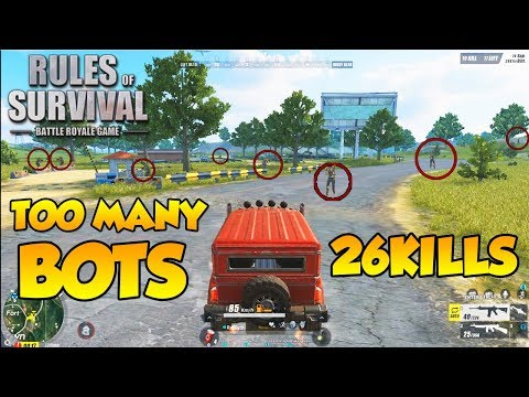 THERE'S SO MANY BOTS WITH SPHINX GAMING | TAGALOG (Rules of Survival: Battle Royale #22)