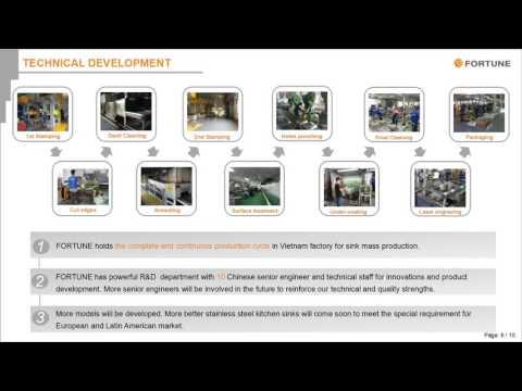 Fortune Industrial Vietnam Co , Ltd Brief Introduction - professional sink factory in Vietnma