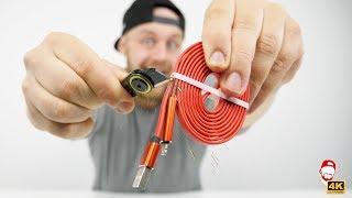 ✂️ Nesmrtelný kabel, který můžeš přestřihnout! | WRTECH [4K]
