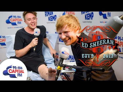Ed Sheeran Tattoos Roman Kemp!