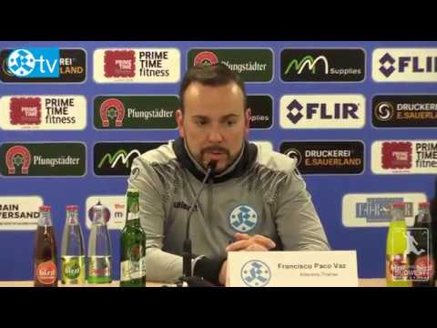 19. Spieltag, FSV Frankfurt vs. Stuttgarter Kickers - Pressekonferenz