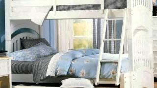 Trundle Bunk Bed With Desk -  New Nice