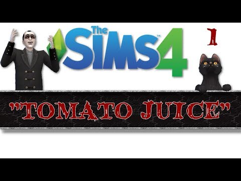 "The sims 4 - ""Tomato Juice"" Letsplay / gameplay episode 1"