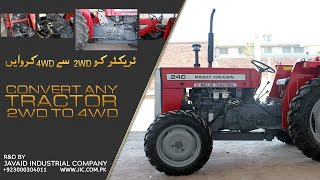 Tractor Conversion from 2WD to 4WD