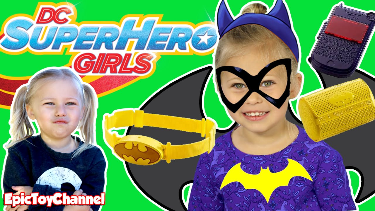 DC SUPERHERO GIRLS IN REAL LIFE Parody & Batgirl Funny Heroes IRL Unboxing by Epic Toy Channel