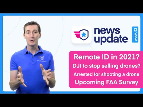 Фото Drone News: Remote ID in 2021? DJI to stop selling drones? Arrested for shooting a drone and more