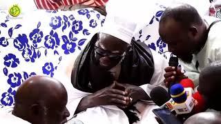 Visite du Khalife Général des Mourides à Darou Cissé
