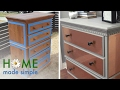 Give an Old Dresser New Life With This Glamorous Update | Home Made Simple | Oprah Winfrey Network