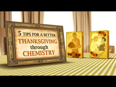Infographic: The Chemistry Of Thanksgiving