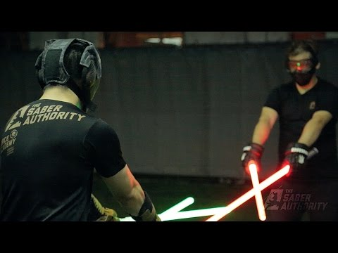 Learn the art of swordsmanship with lightsabers in Singapore (by The Saber Authority)