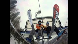 Роза Хутор Sochi горные лыжи GoPro Full HD(Фрирайд, трассы, аквапарк. Роза Хутор, Газпром, Горная карусель, Rosa Khutor., 2015-04-20T09:36:50.000Z)