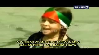 Video Anak Palestina Vs Militer Israel by syahrul respect