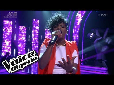 Brenda sings I Wish   Show  The Voice Nigeria 2016