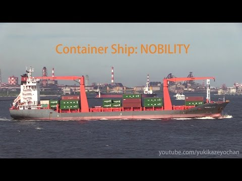 Container Ship: NOBILITY (COSMO SHIPMANAGEMENT, IMO: 9459101)
