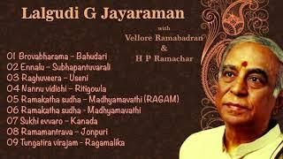 Lalgudi G Jayaraman - Vellore Ramabhadran - Ramachar