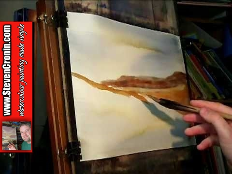 Painting with Watercolours featuring Kimberleys and Mount Clifton Part 1 of 2