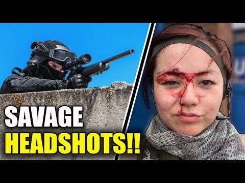 Top 5 Most Savage Airsoft Headshots - Rewind 2019