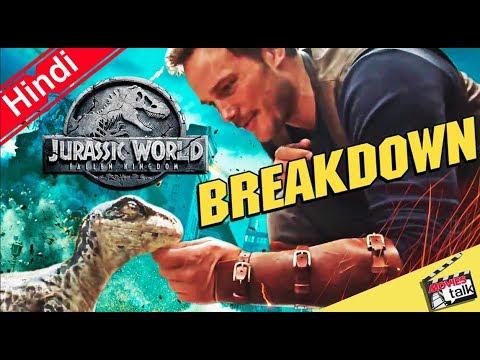 Jurassic World: Fallen Kingdom Official Teaser BREAKDOWN [Explain In Hindi]