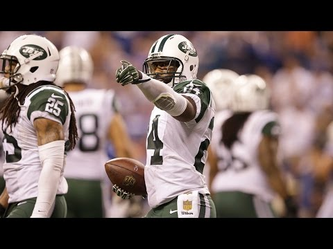 Every Darrelle Revis Interception as a Jet