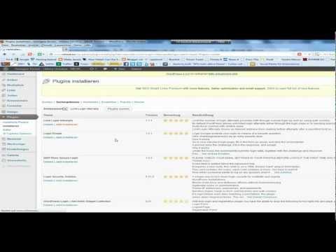 WordPress-Plugin Limit Login Attempts auf deutsch