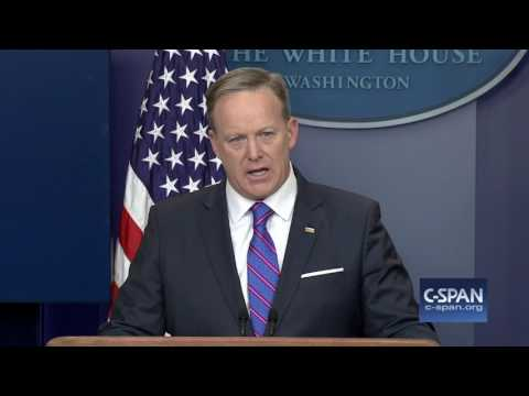 White House Press Secretary Sean Spicer on Michael Flynn resignation (C-SPAN)