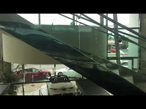 AWESOME DOVER IMPULSE FULL GLASS Oildraulic Elevator @ Volvo Dealership, Van Nuys, CA