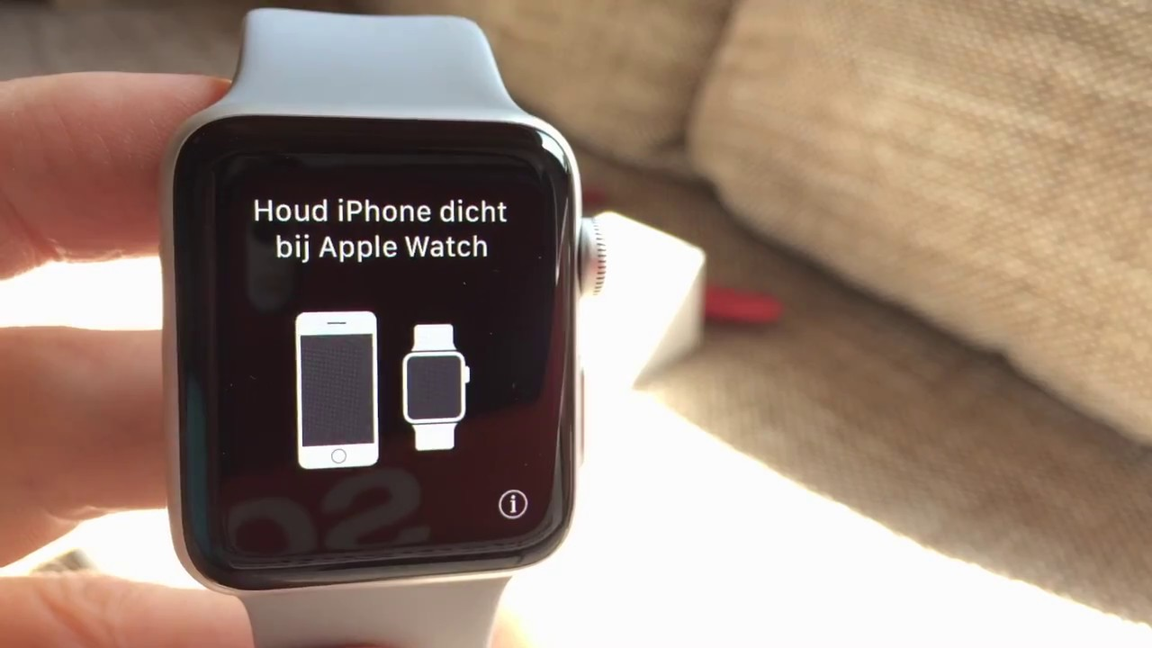 detailed look 964a1 43425 Apple Watch Series 3 (GPS) Sport Band Fog; unboxing, first look