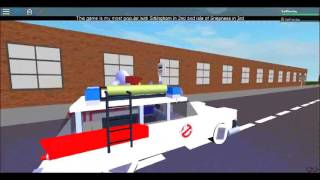ROBLOX: Ecto-1 driving around Hampshire Swing Bridge and LC