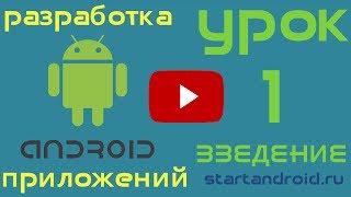 Обучение разработке на Android. Урок 1. Введение.
