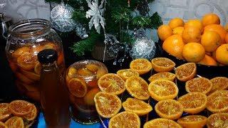Мандариновое настроение! Сироп, цукаты и варенье. / Mandarin mood! Syrup, candied fruits and jam.