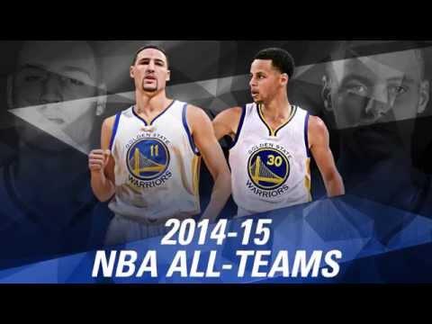 2014-15 All-NBA Teams