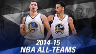 2014-15 All-NBA Teams