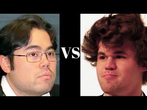 Amazing Chess Game: Hikaru Nakamura vs Magnus Carlsen : Zurich Chess Challenge (2014) : Nimzo-Indian