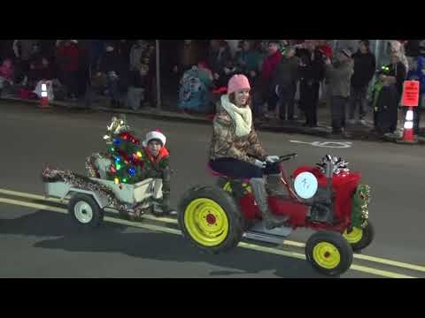 Lighted Tractor Parade 2017