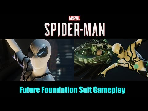 Future Foundation Suit GAMEPLAY - SPIDER-MAN PS4