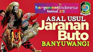 asal usul kesenian jararanan buto banyuwangi banyuwangi festival 2018