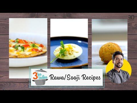 Easy Rawa Idli & Appam।एक रवा तीन recipes ! NO EFFORT MASTERCHEF RECIPES | नाशता | Chef Ranveer Brar