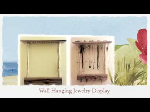 Top 10 Rustic DIY Wooden Jewelry Displays