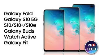 Презентация Samsung Galaxy S10 за 7 минут: Galaxy Fold, S10 5G, S10, Buds, Watch Active, Fit