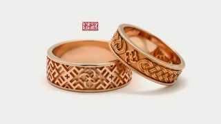 видео Обручальные кольца с символикой